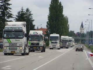 Truckshow - spanilá jízda