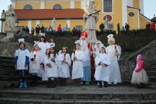 Oslava svátku sv. Mikuláše 2015