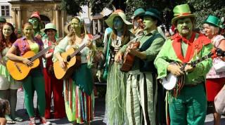 Pohádkový Chlum - vodníci muzikanti