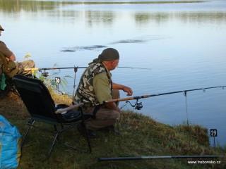 Rekreační rybaření na rybnících Rybářství Třeboň