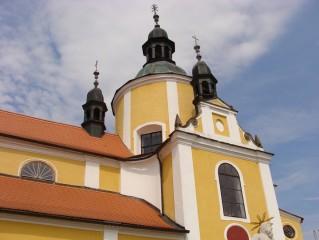 Detail chlumeckého kostela