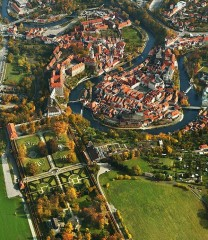 Hrad a zámek - Český Krumlov