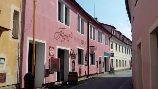 Figar's Wine & Café Bar. rožmberská ulice