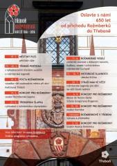 Třeboň Rožmberská - plakát