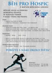 Běh pro hospic - plakát