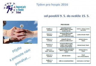Týden pro hospic 2016