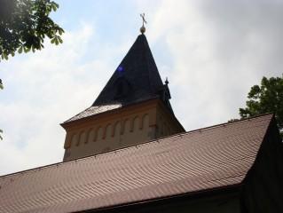 Věž kostela