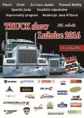 TruckShow Lužnice 2016 - plakát