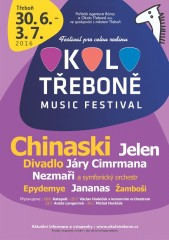 Okolo Třeboně - plakát 2016