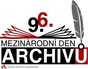Mezinárodní den archivů - logo