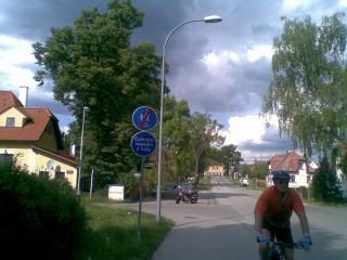 Cyklostezkou Třeboní