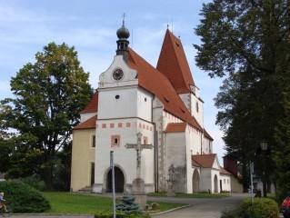 Horní Stropnice - kostel sv. Mikuláše