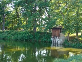 Staňkovský rybník - hráz