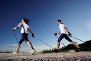 Půjčovna holí Nordic Walking