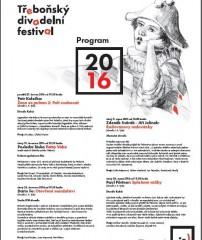 Třeboňský divadelní festival 2016