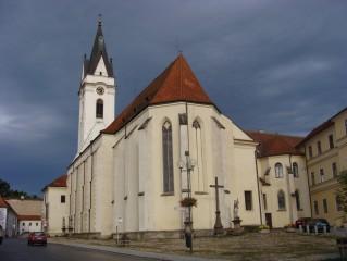 Kostel v Třeboni