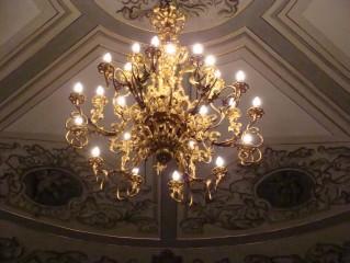 Divadlo v Třeboni - detail