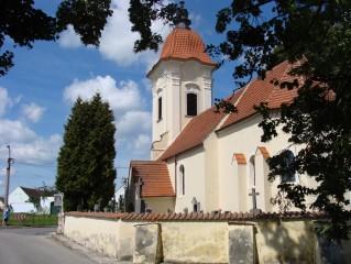 Kostel ve Slověnicích