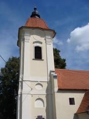 Věž slověnického kostela