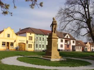 Borovany - náměstí