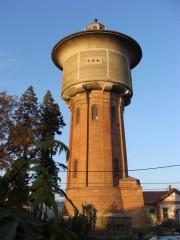 Třeboňská vodárenská věž od Kotěry