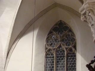 Kostel P. M. Královny a sv. Jiljí - detail