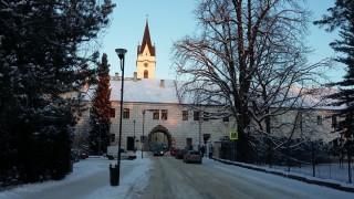 Budějovická brána s Dlouhou chodbou