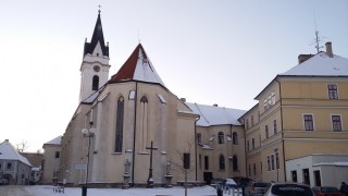 Kostel v zimě