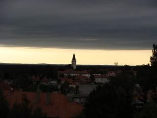 Kostel je dominantou Třeboně