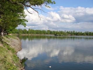 Koupání  rybník Svět