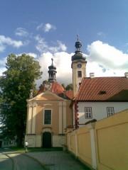 Borovany: kostel a kaple