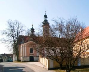 Borovany - pohled z náměstí