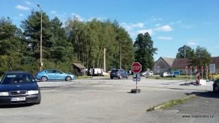 Stará Hlína léto 2016: objížďka z důvodu opravy mostu