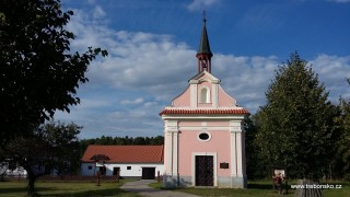 Kaplička u svatého Víta má na věži kohouta - symbol bdělosti