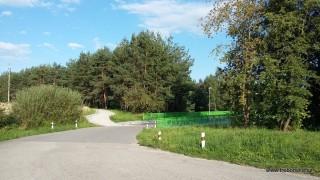 Cyklostezka vede po mostě  přes hl. tah Č.Budějovice - J. Hradec