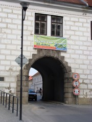 Největší kapr - banner na bráně
