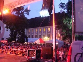 Koncert na nádvoří zámku
