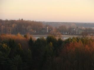 Kostel sv. Jiljí - pohled od Aurory