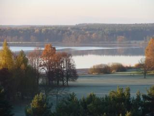 Lázeňský park na podzim