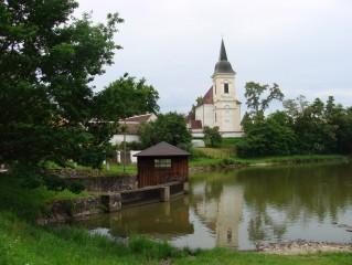 Bošilec - kostel sv. Martina
