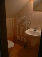 Koupelna v chatě Holná