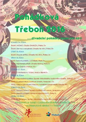 Pohádková Třeboň - plakát