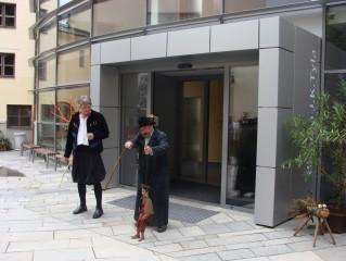 Ze slavnostního otevření Loutkového divadla 1.6.2012