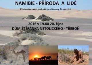 Namibie - plakát 2016