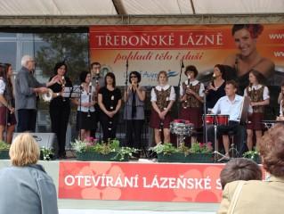 Otevírání lázeňské sezony s Třeboňskými pištci