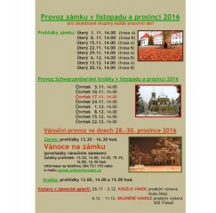 Listopad a prosinec 2016