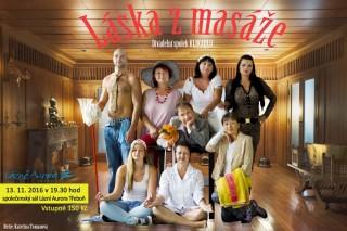 Láska z masáže - plakát