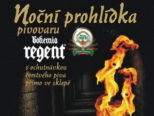 Noční prohlídky pivovaru Bohemia Regent