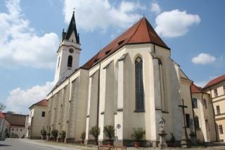 Kostel P. M. Královny a sv. Jiljí v Třeboni