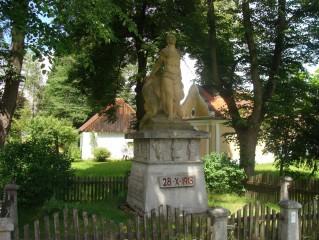 Pomník padlým od rodáka J. Kojana